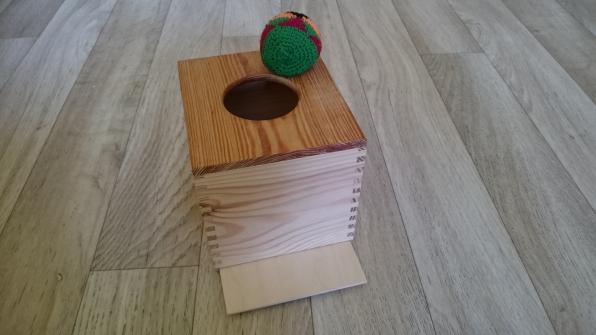 Box s míčkem