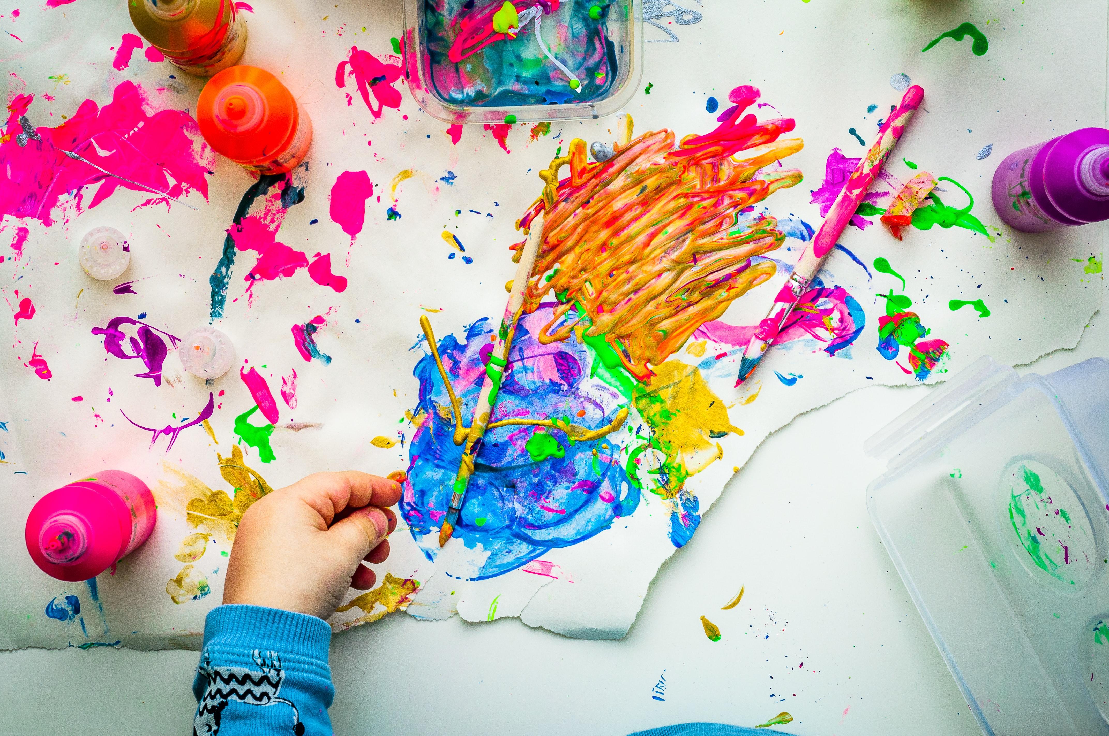 Tvořivé ruce - výtvarka pro děti od 3 let OBSAZENO